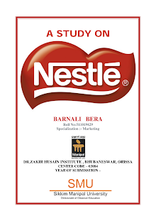 A Study on Nestle India