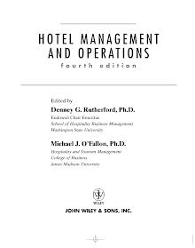 Blackbook on Hotel Management and Operations