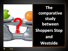 comperative analysis between shopper stop and west side