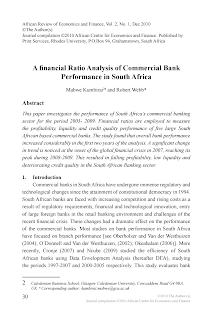 Financial Ratio Analysis of Commercial Bank - South Africa