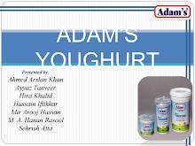 Project on Adam's Youghurt