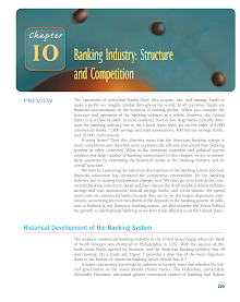 Project Study on Banking Industry - Structure and Competition