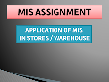 Application of MIS in stores and warehouse