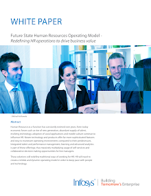 White Paper on Human Resources Operating Model