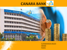 PRESENTATION ON CANARA BANK