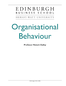 Study on Relationship of Management to Organisational Behaviour