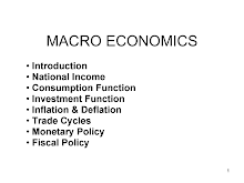 Macroeconomics in nutshell