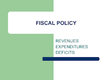 Fiscal Policy-Revenues Expenditures Deficits