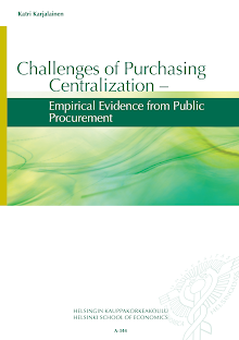 Study on Challenges of Purchasing Centralization
