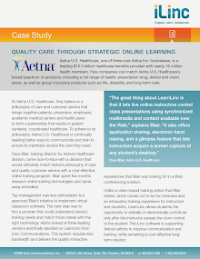 Case Study on Aetna U.S. Healthcare