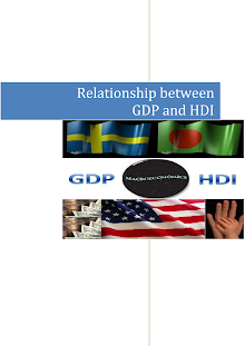 Relationship between GDP and HDI