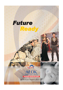 Alok Industries Limited Annual Report 2011-12