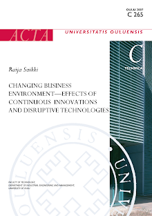 Research Study on Effects of Continuous Innovations and Disruptive Technologies