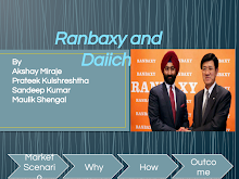 PRESENTATION ON RANBAXY AND DAIICHI
