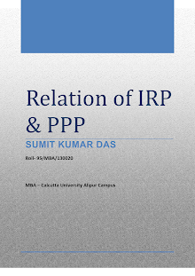 relation of PPP and IRP