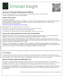 A time varying approach to analysing fiscal policy and asset prices in South Africa