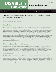 Social Enterprise Businesses A Strategy For Creating Good Jobs For People