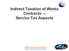 Study Report on Service Tax Aspects