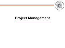 Project Management - Fundamentals