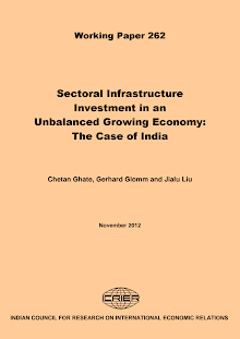White Paper on Sectoral Infrastructure Investment