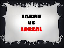 PRESENTATION ON LAKME VS LOREAL