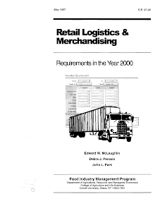 Report Study in Retail Logistics and Merchandising