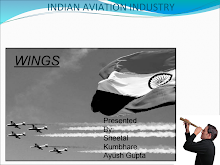 PRESENTATION ON INDIAN AVIATION INDUSTRY