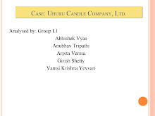 Case: Uhuru Candle Company, Ltd.