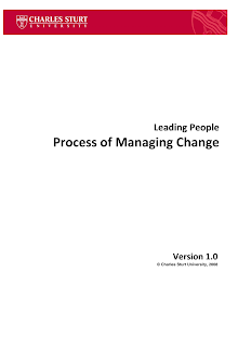 Project Study on Process of Managing Change