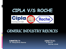 PROJECT ON CIPLA VS ROCHE