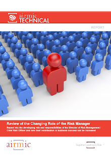 Report Study on Changing Role of the Risk Manager