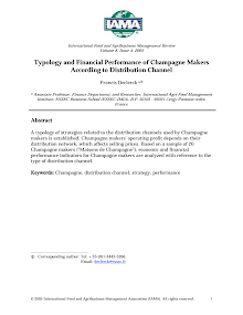 Study on Typology of Strategies - Distribution Channels