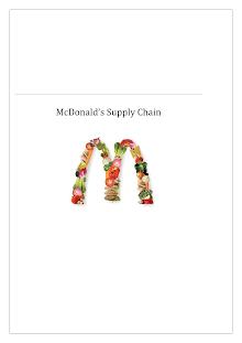 McDonald's Supply Chain