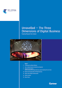 Research Study on Three Dimensions of Digital Business