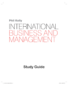 MBA Study Guide on International Business & Management