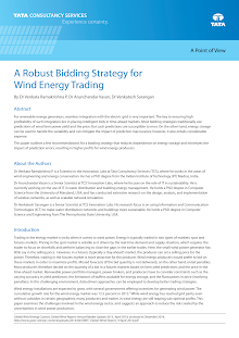 TCS-A Robust Bidding Strategy for Wind Energy Trading