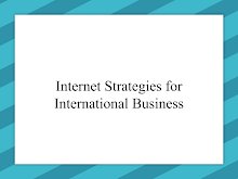 Study on Internet Strategies for International Business