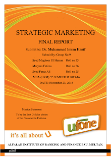 Strategic Marketing at Ufone