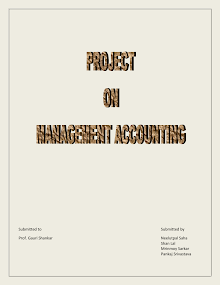 Project Report on Management Accounting
