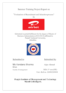recruitment and selection in Bharti Airtel