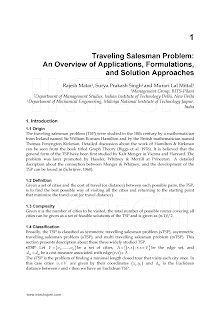 Study on Traveling Salesman Problem (TSP)