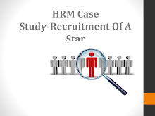 Case Study Solution- Recruitment of a star