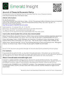 The persistent effect of banking crises on investment and the role of financial markets