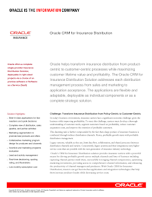 CRM for Insurance Distribution