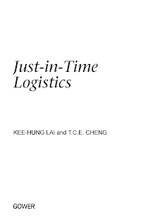 Study on Just-in-Time Logistics