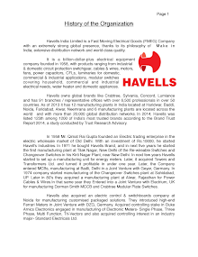 Havells OST Report