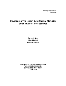 Whitepaper on Indian Debt Capital Markets