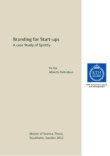 Research Paper on Branding for Start-ups