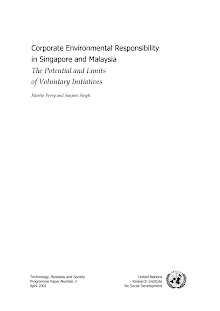 Study on Corporate Environmental Responsibility - Singapore