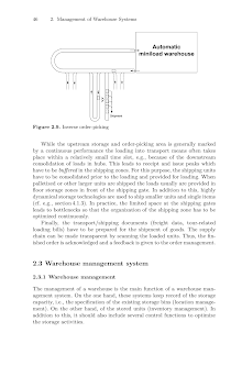 Study on Management of Warehouse Systems - Automatic Miniload Warehouse